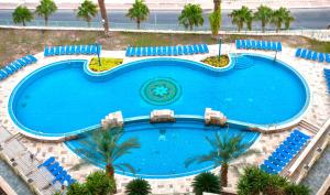 A view of the pool at Leonardo Plaza Hotel Dead Sea or nearby