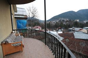 A balcony or terrace at Grimis Villa
