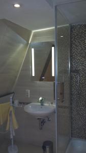 Ein Badezimmer in der Unterkunft Ferienhaus Eberbach