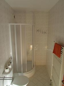 A bathroom at Ubytování Nová Pec