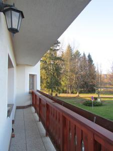 A balcony or terrace at Ubytování Nová Pec