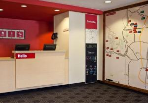 The lobby or reception area at TownePlace Suites Colorado Springs