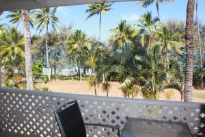 A balcony or terrace at Beachfront Terraces Exclusive Onsite Reception and Management