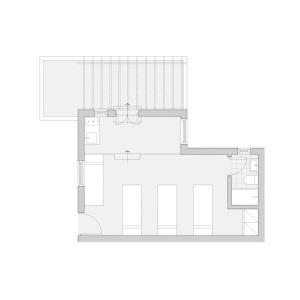 The floor plan of Sigma Studios on The Beach