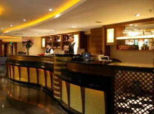 Lounge nebo bar v ubytování Tianan Rega Hotel