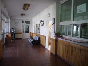 The lobby or reception area at Vila Diakonia