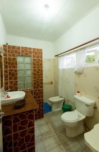 Ванная комната в Zerof Guest House