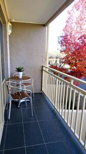 A balcony or terrace at Best Western Plus Goulburn