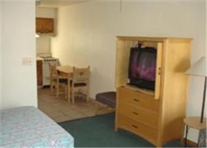 A television and/or entertainment center at Miles Motel