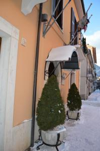 Hotel Il Tiglio during the winter