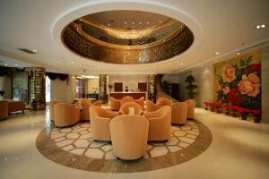Vstupní hala nebo recepce v ubytování Tianan Rega Hotel