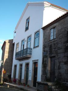 The facade or entrance of Casa Pires Mateus
