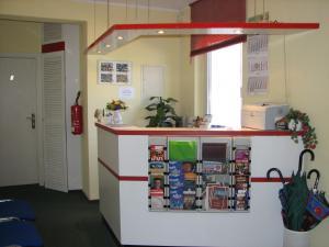 Küche/Küchenzeile in der Unterkunft Hotel-Pension Lydia