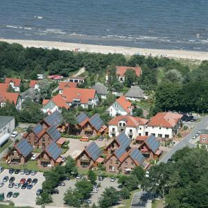 A bird's-eye view of Usedom Bike Hotel & Suites