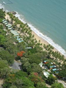 A bird's-eye view of Ellis Beach Oceanfront Bungalows