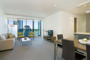 A seating area at City Tempo - SouthbankOne
