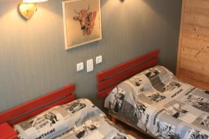Un ou plusieurs lits dans un hébergement de l'établissement Accueil Savoyard