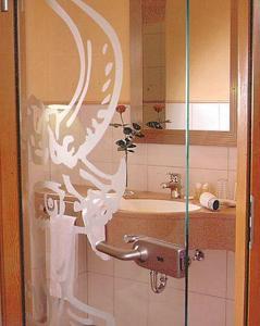 Ein Badezimmer in der Unterkunft Hotel Restaurant Ochsenwirtshof