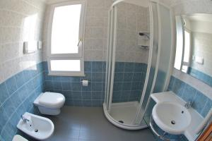 Salle de bains dans l'établissement Hotel Torretta