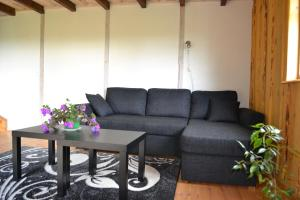 Istumisnurk majutusasutuses Kivi-Roosi Holiday House