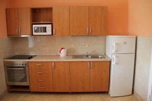 Kuchyň nebo kuchyňský kout v ubytování U Mami