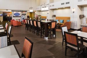 A restaurant or other place to eat at Hampton Inn & Suites Las Vegas South