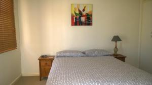 A bed or beds in a room at Armidale Ace Apartments
