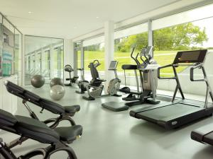 The fitness centre and/or fitness facilities at Coworth Park - Dorchester Collection