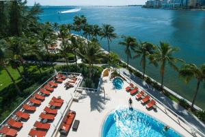 A view of the pool at Mandarin Oriental Miami or nearby