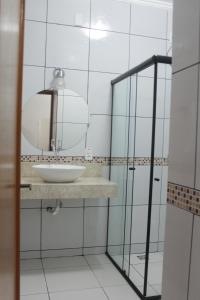 A bathroom at Hotel del Príncipe
