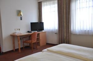 TV/Unterhaltungsangebot in der Unterkunft Hotel Hornung