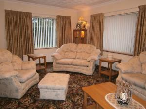 A seating area at St.Bridgets Bed and Breakfast
