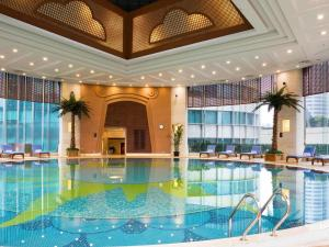 The swimming pool at or near Pullman Shanghai Skyway