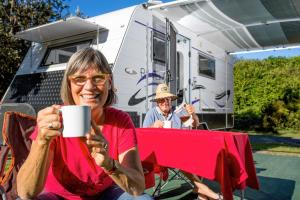 Guests staying at Reflections Holiday Parks Red Rock