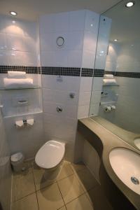 A bathroom at Ramada Wakefield