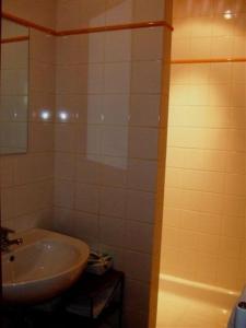 Een badkamer bij Hotel In't Boldershof