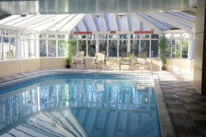 The swimming pool at or near The Oriel Hotel & Spa