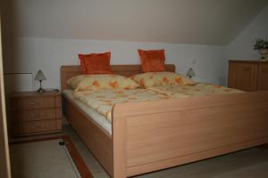 Ein Bett oder Betten in einem Zimmer der Unterkunft Haus Rottenstein