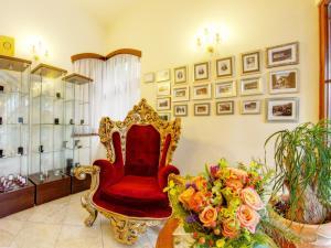 Lobby alebo recepcia v ubytovaní Hotel Bankov Košice