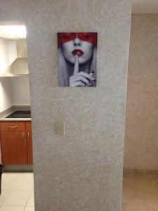 """A bathroom at Modern apartment in San Juan """"Convention Center District Live"""" Best location"""