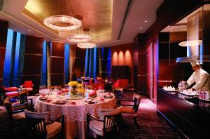 A restaurant or other place to eat at Shangri-la China World Summit Wing, Beijing