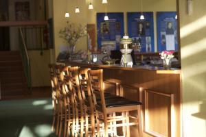 Lounge oder Bar in der Unterkunft ACRON Hotel Wittenberg