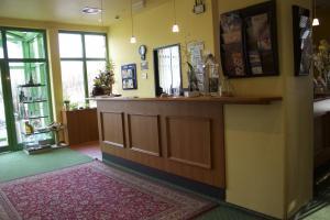 Lobby/Rezeption in der Unterkunft ACRON Hotel Wittenberg
