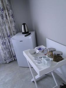 Coffee and tea-making facilities at Our Nest Guest House