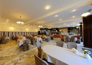 Restauracja lub miejsce do jedzenia w obiekcie Hotel Ostrawa