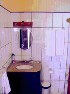 A bathroom at Manga Rosa Suites