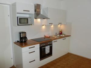 Kuchyň nebo kuchyňský kout v ubytování Apartment24-Schoenbrunn