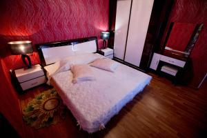 Кровать или кровати в номере Отель Весна Хоста