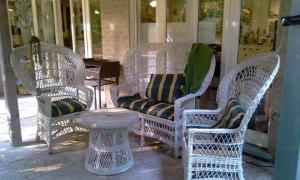 A seating area at B&B The Aum-House