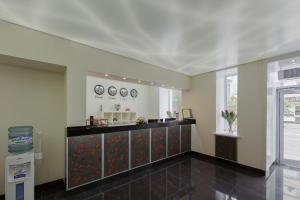 Лобби или стойка регистрации в Dom Hotel Apart